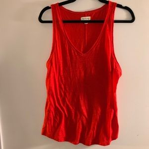 Tomato red NWOT tank top